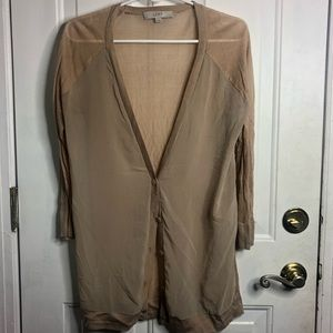 Tan cardigan (new)